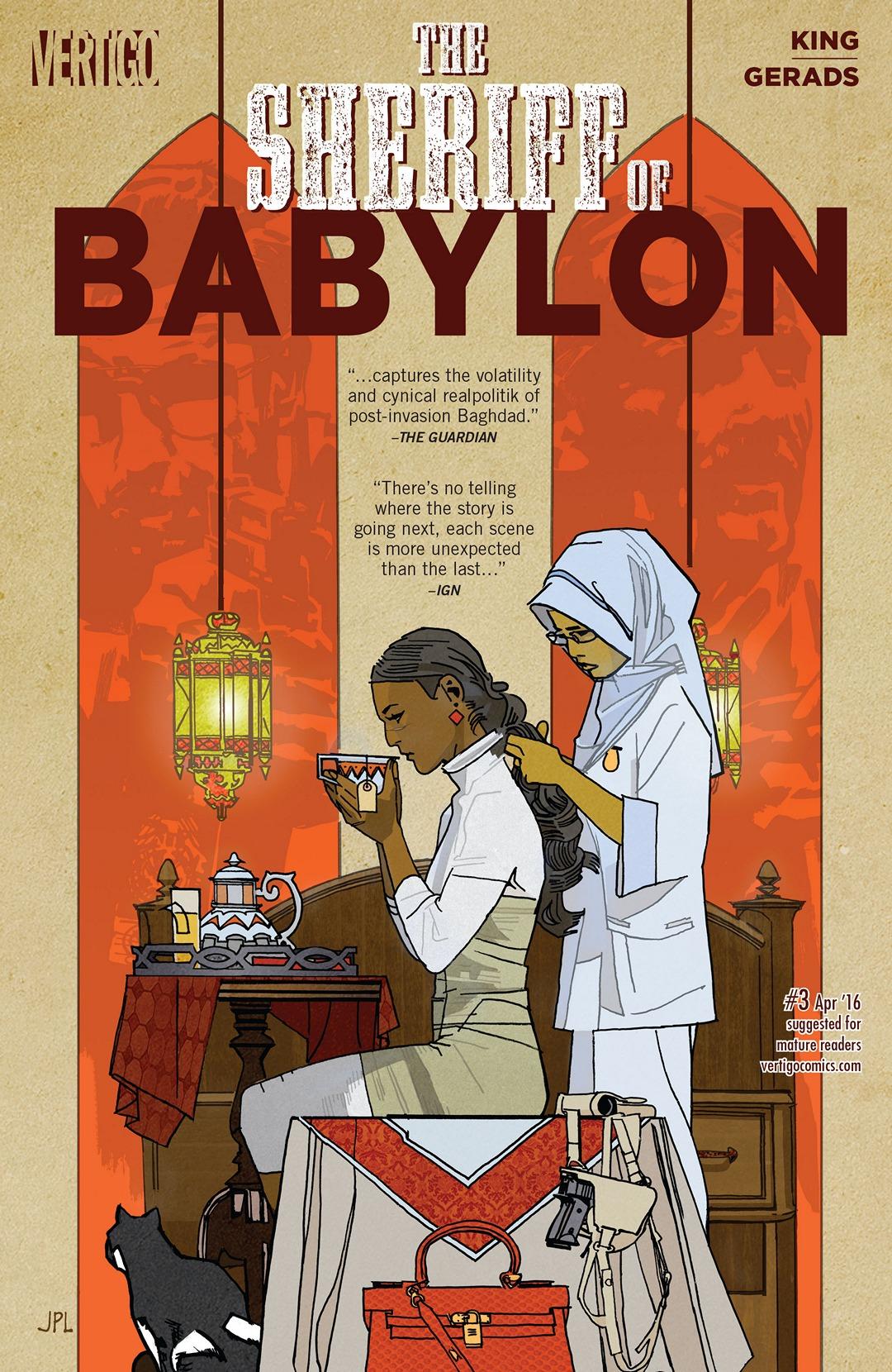 The Sheriff of Babylon Vol 1 3