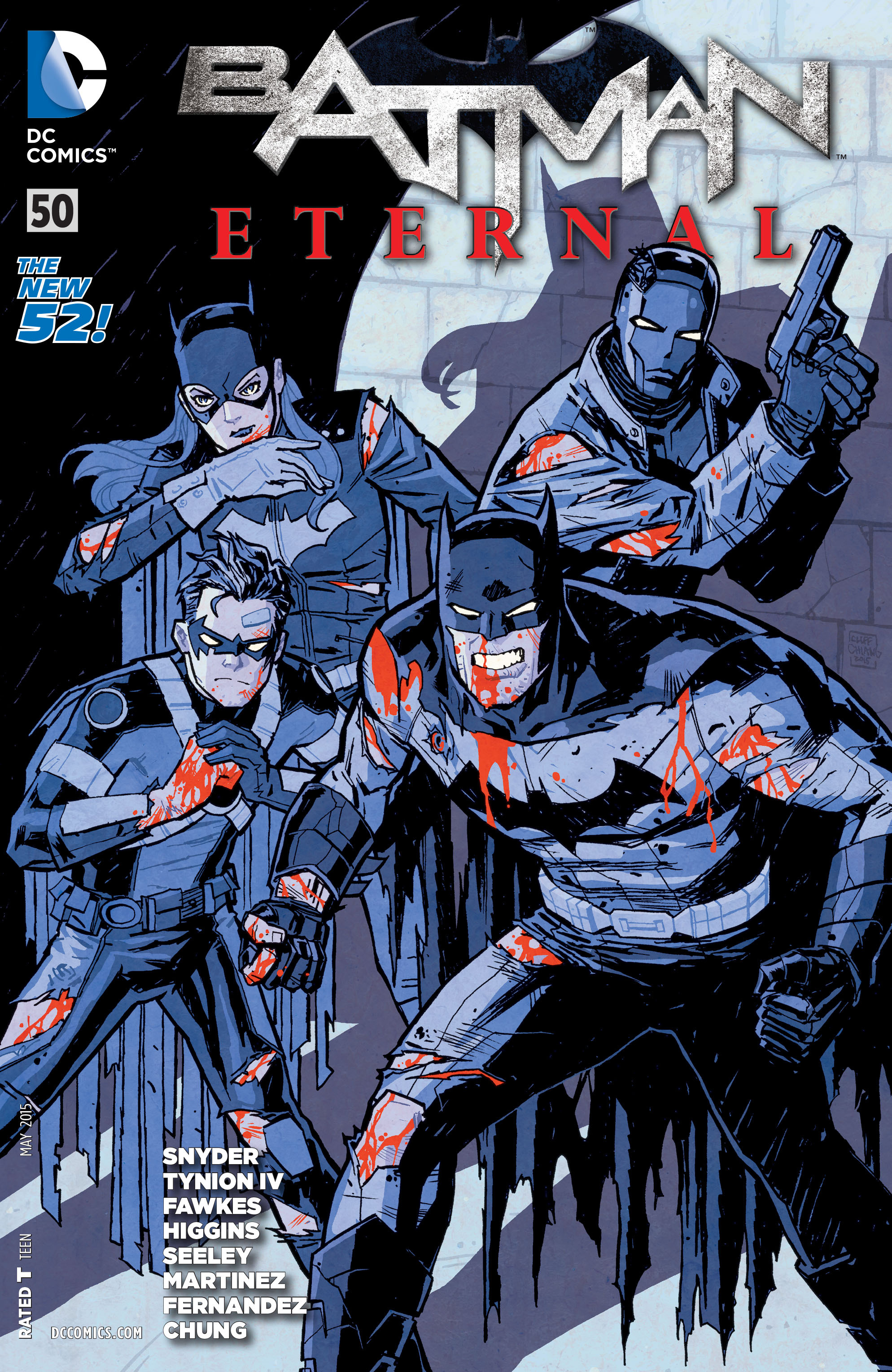 Batman Eternal Vol 1 50