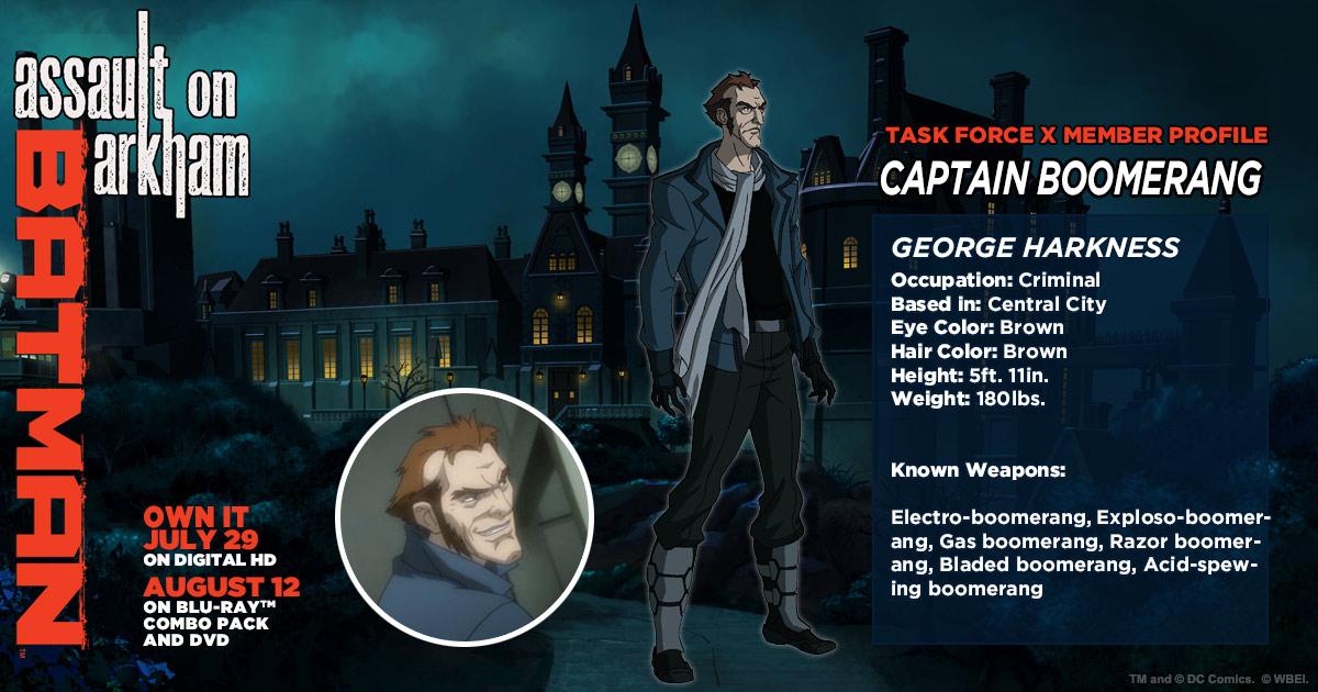George Harkness (Arkhamverse)