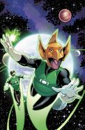 Hal Jordan and the Green Lantern Corps Vol 1 33 Textless Variant