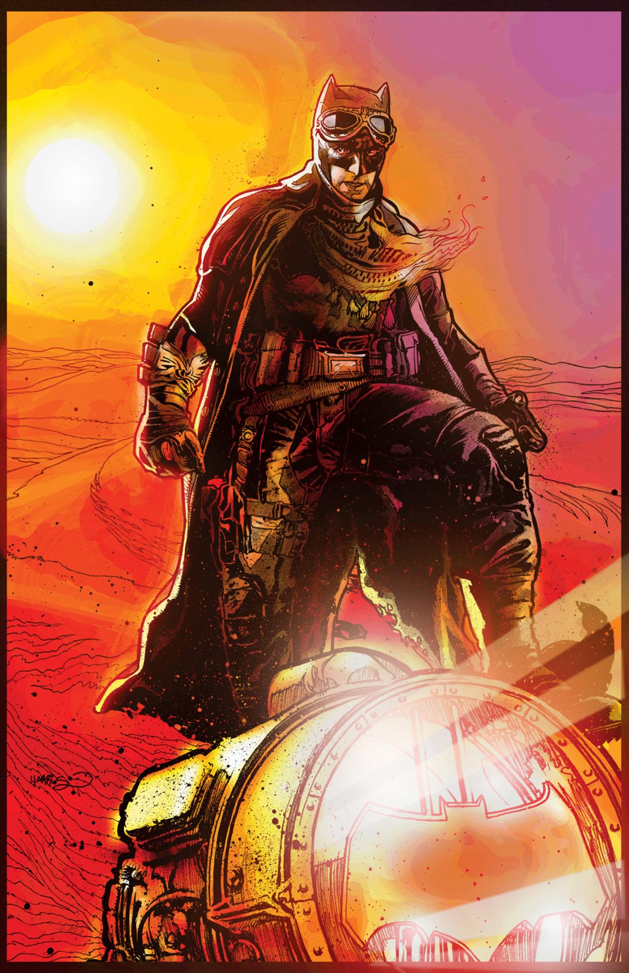 Harley Quinn Vol 2 26 Batman v Superman Textless Variant.jpg