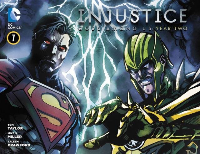 Injustice: Gods Among Us: Year Two Vol 1 7 (Digital)