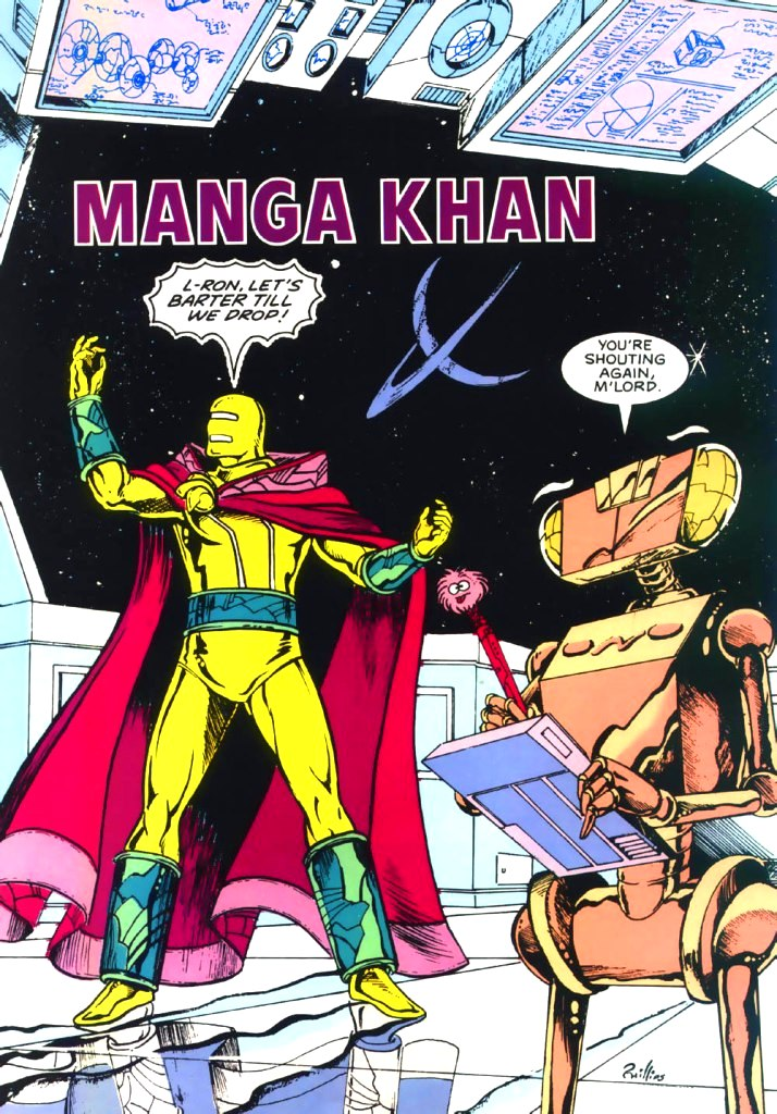Manga Khan (New Earth)