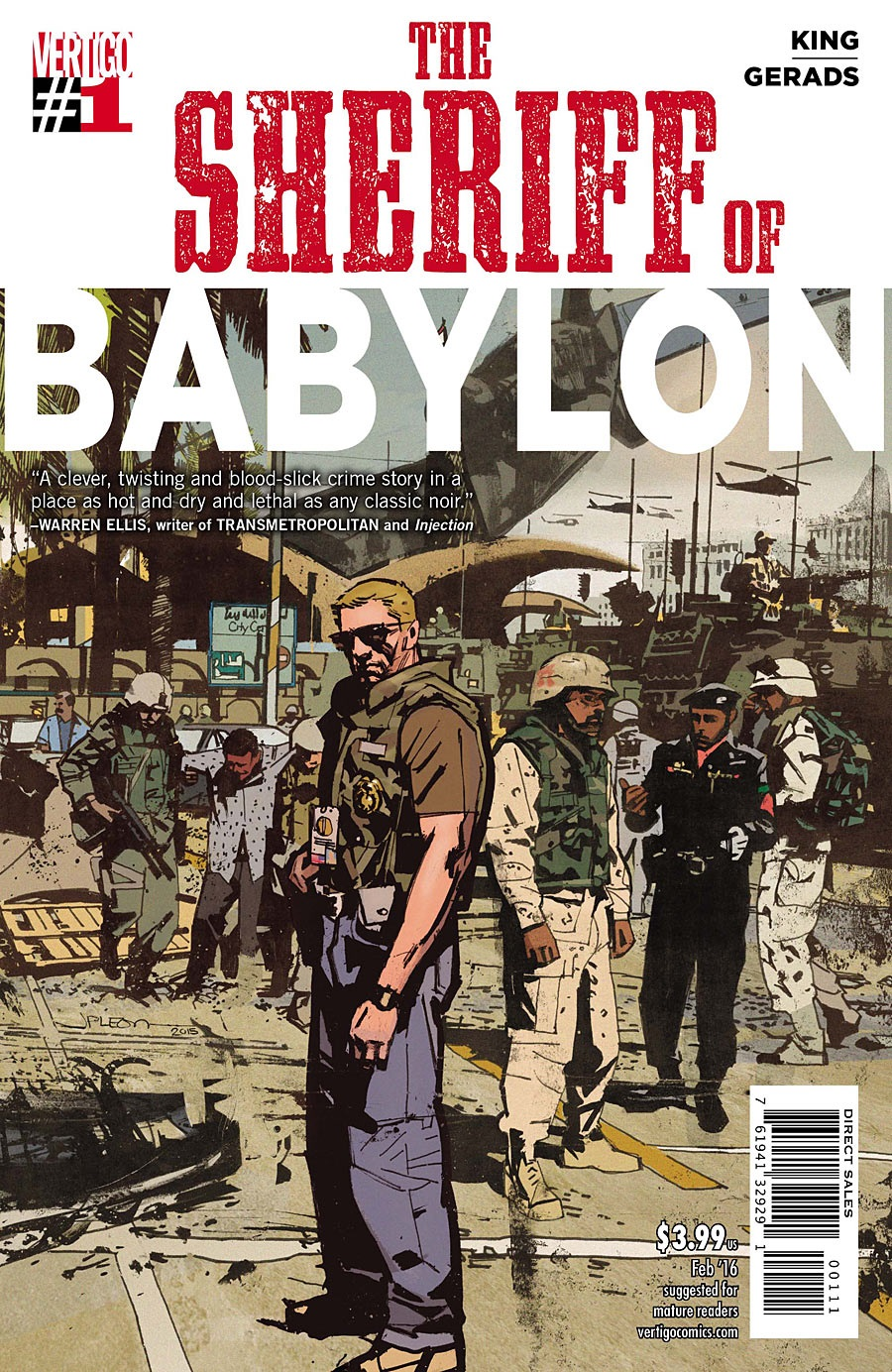 The Sheriff of Babylon Vol 1 1