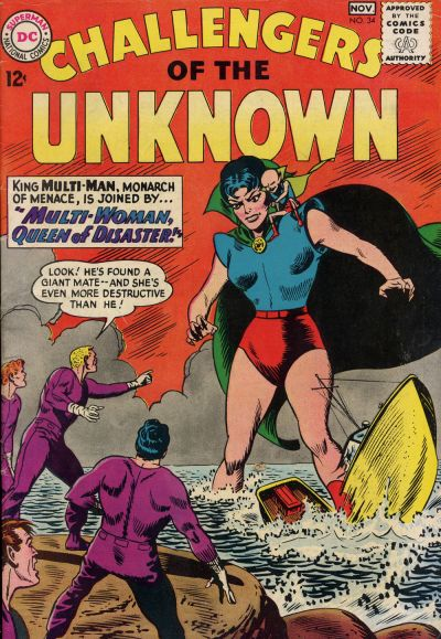 Challengers of the Unknown Vol 1 34