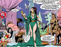 Circe captures Wonder Woman