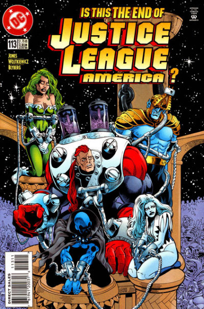 Justice League America Vol 1 113
