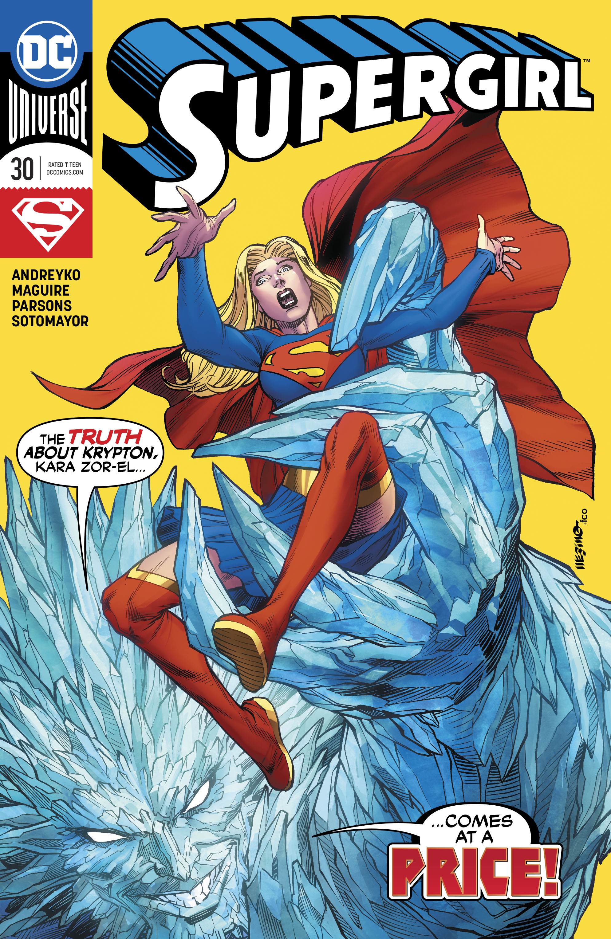 Supergirl Vol 7 30