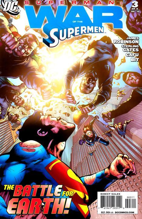 Superman: War of the Supermen Vol 1 3
