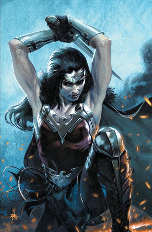 Wonder Woman Vol 1 750 Bulletproof Comics - Gabriele Dell'Otto Virgin Variant Cover.jpg
