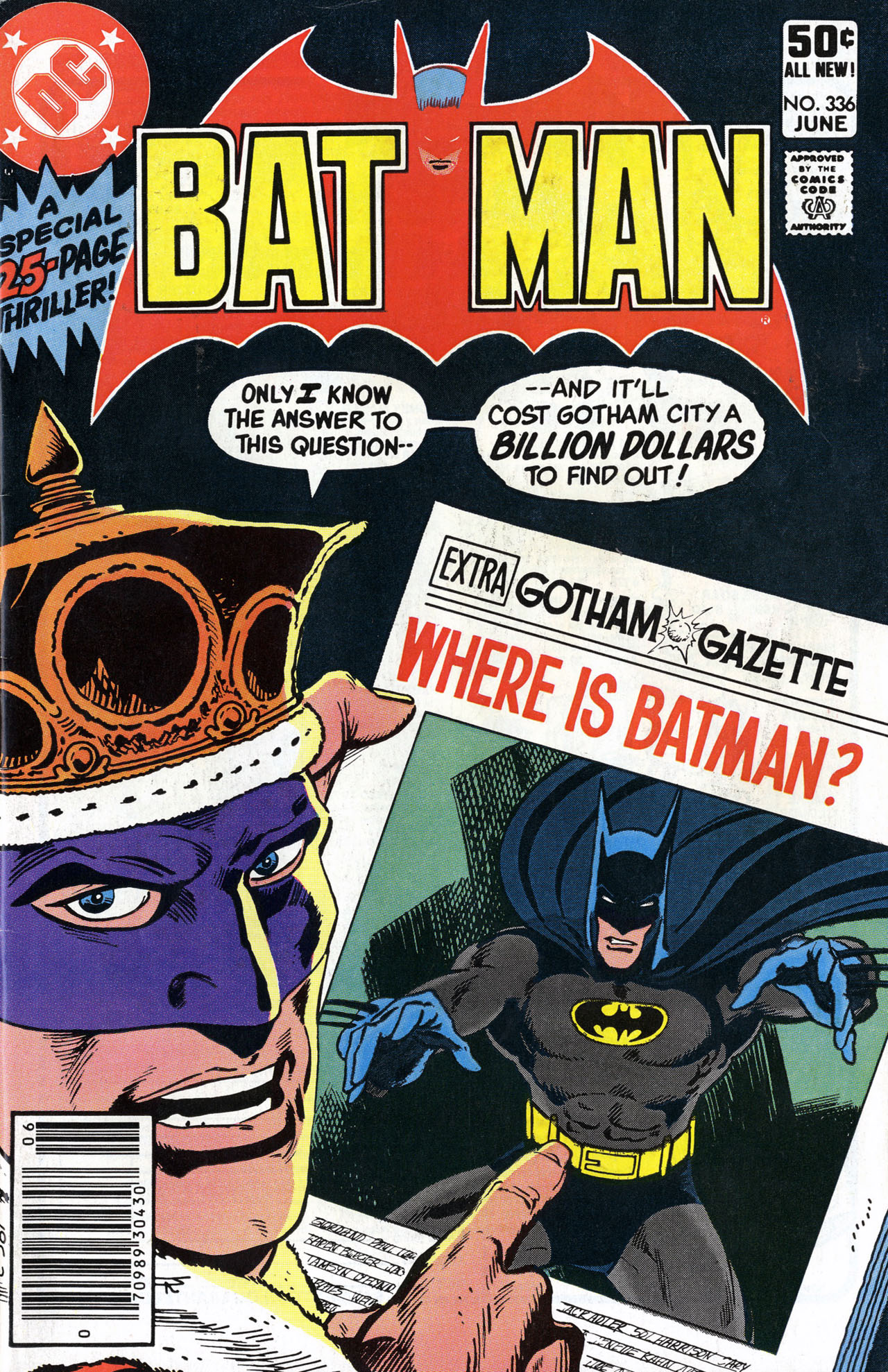 Batman Vol 1 336