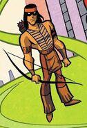 Green Arrow DCAU Earth-D 001