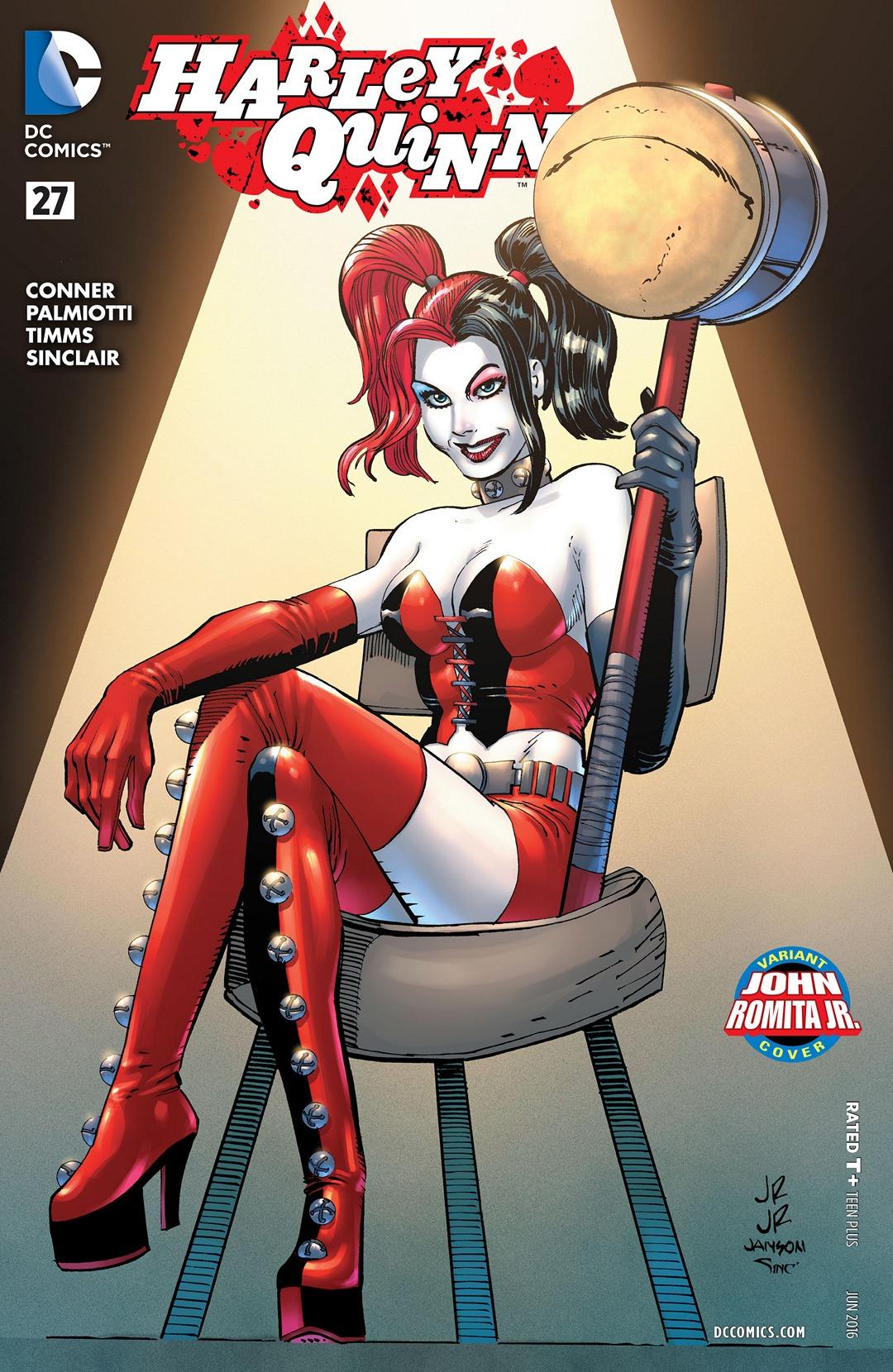 Harley Quinn Vol 2 27 Romita Jr Variant.jpg