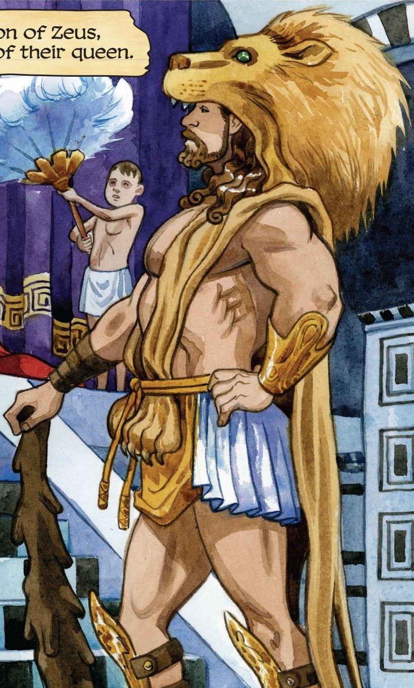 Herakles (The True Amazon)