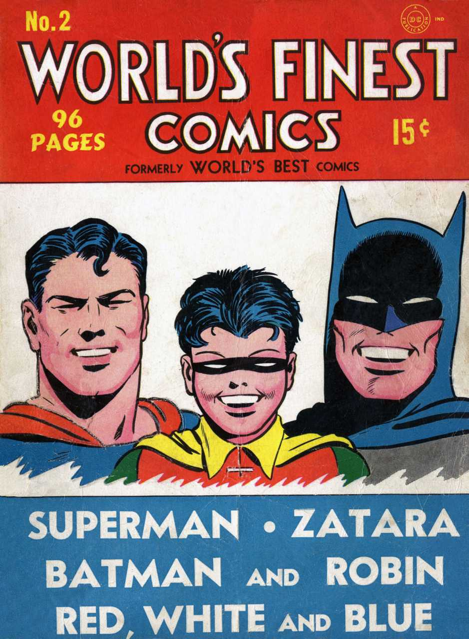 World's Finest Vol 1 2