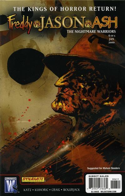 Freddy vs. Jason vs. Ash: The Nightmare Warriors Vol 1 6