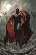 Future State Superman Worlds of War Vol 1 1 Textless Exclusive Bulletproof Comics Variant