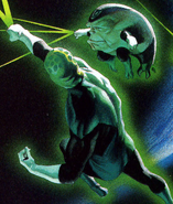 Green Man Galius Zed Justice 001
