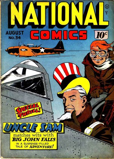 National Comics Vol 1 34