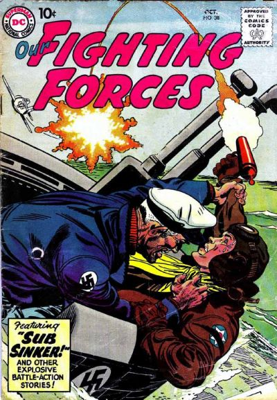 Our Fighting Forces Vol 1 38