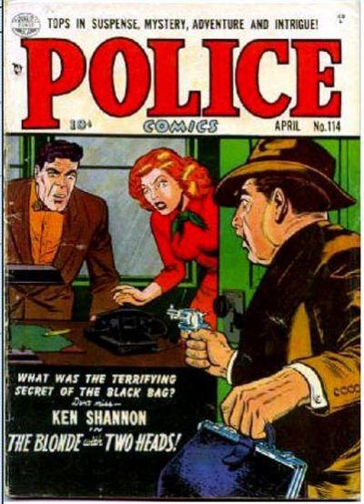 Police Comics Vol 1 114
