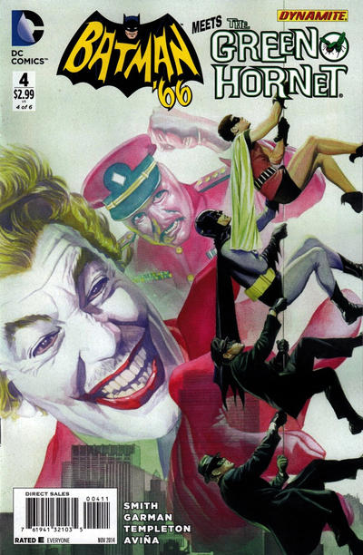 Batman '66 Meets The Green Hornet Vol 1 4