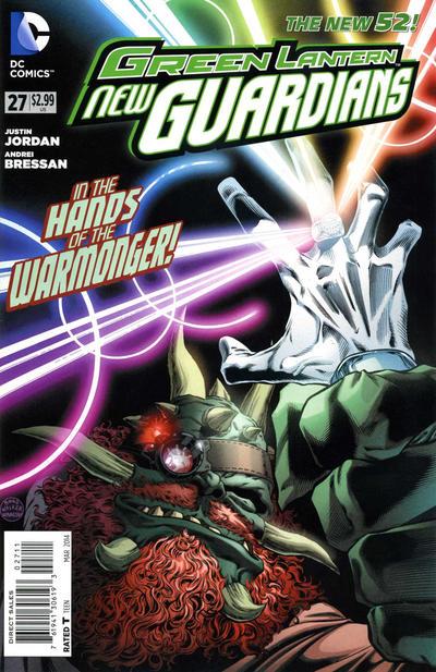 Green Lantern: New Guardians Vol 1 27