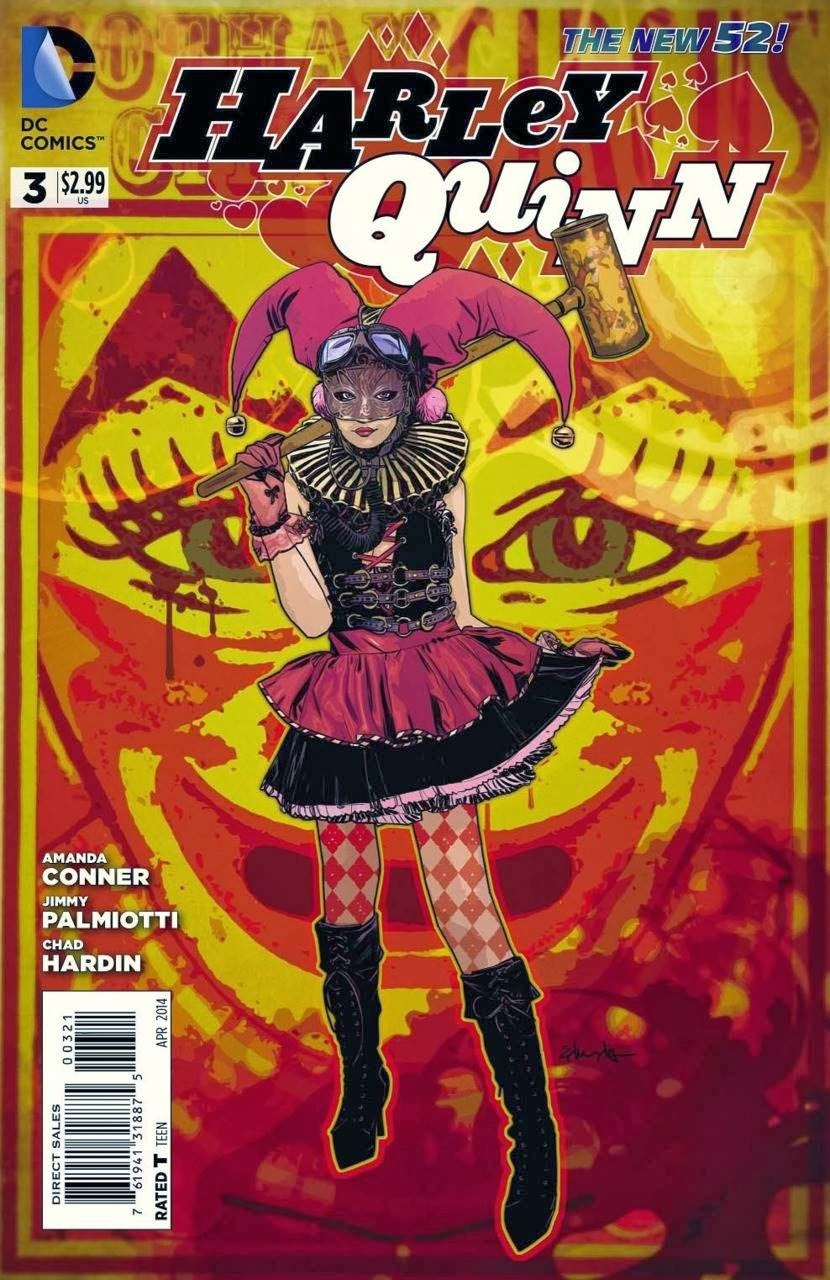 Harley Quinn Vol 2 3 Steampunk Variant.jpg