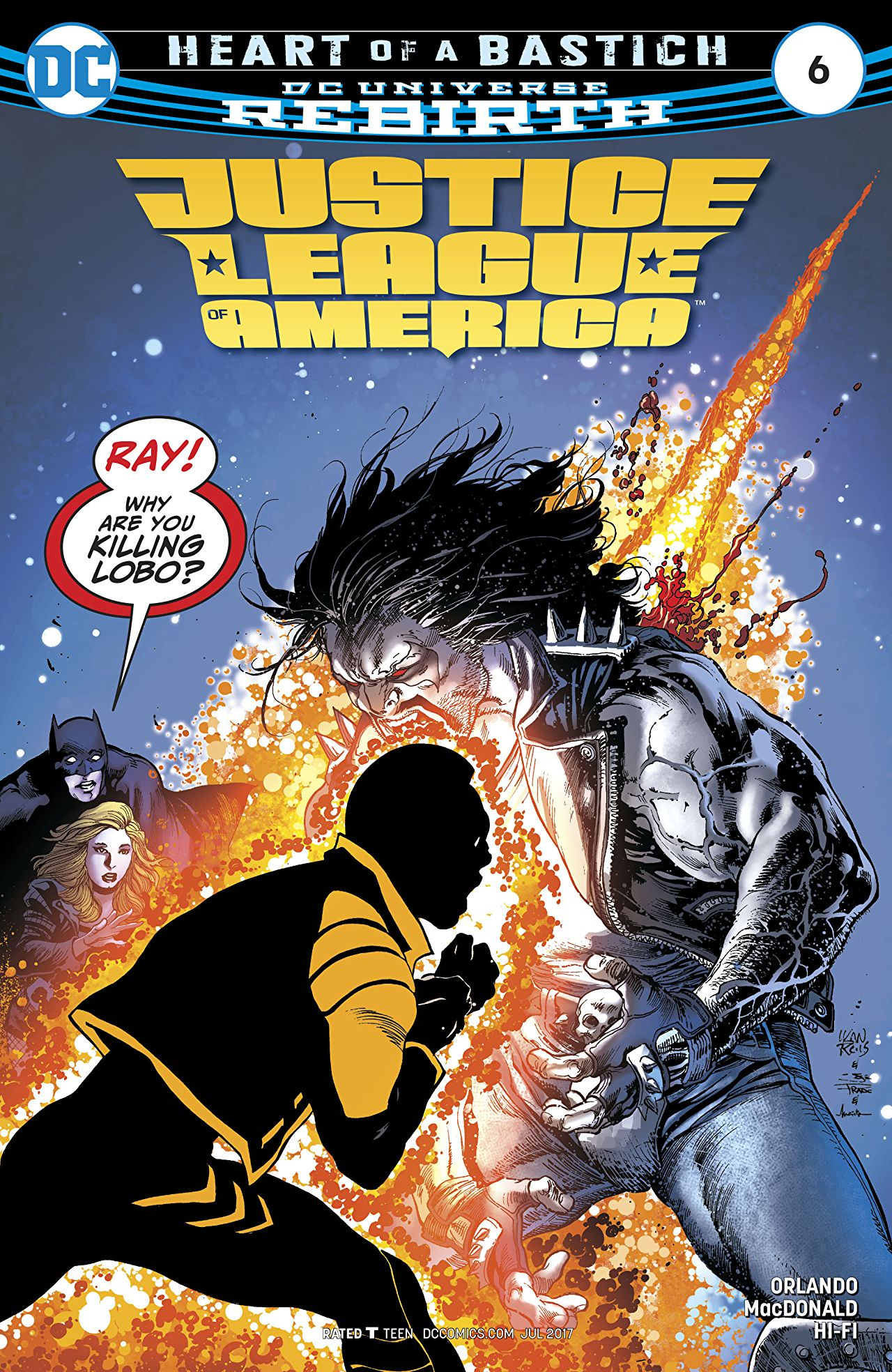 Justice League of America Vol 5 6