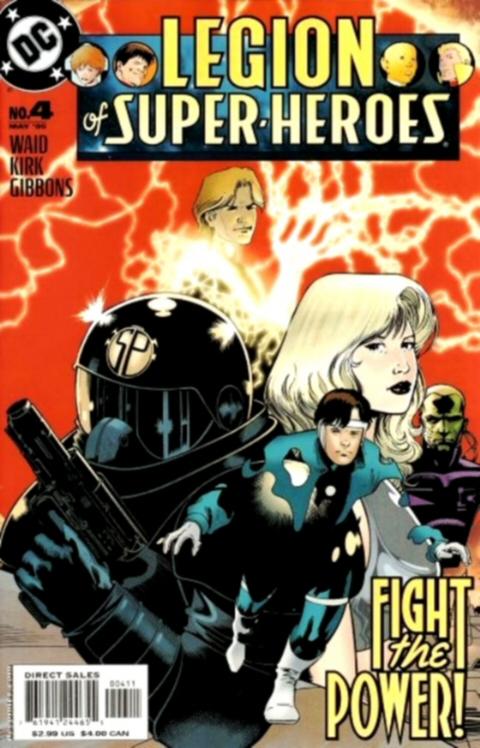 Legion of Super-Heroes Vol 5 4