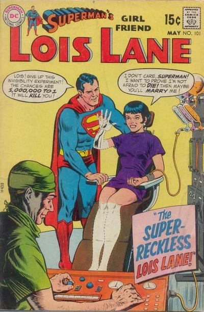 Superman's Girl Friend, Lois Lane Vol 1 101