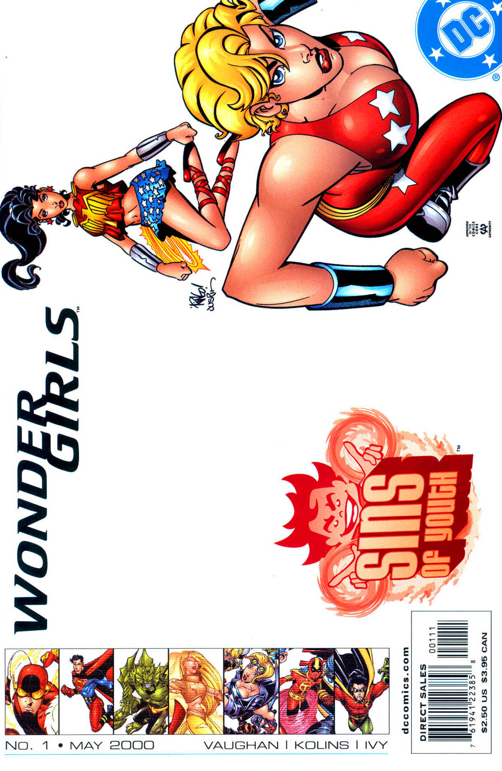 Sins of Youth: Wonder Girls Vol 1 1