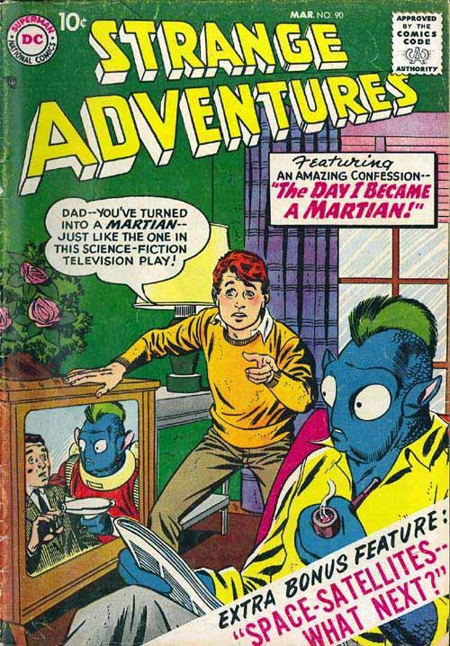 Strange Adventures Vol 1 90