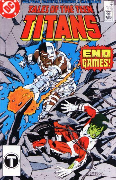 Tales of the Teen Titans Vol 1 82