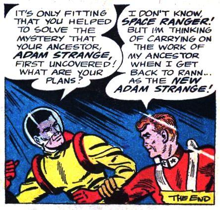 Adam Strange II (Earth-One)