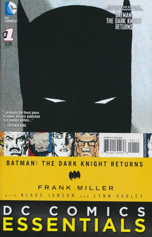 Batman Essentials: The Dark Knight Returns Special Edition Vol 1 1