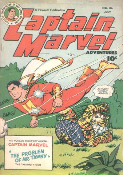 Captain Marvel Adventures Vol 1 86