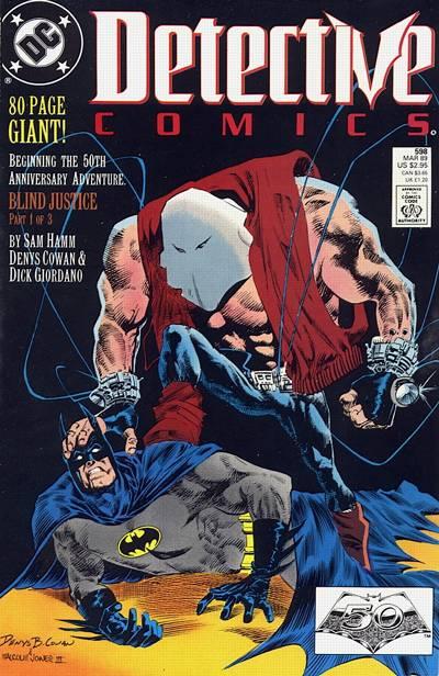 Detective Comics Vol 1 598