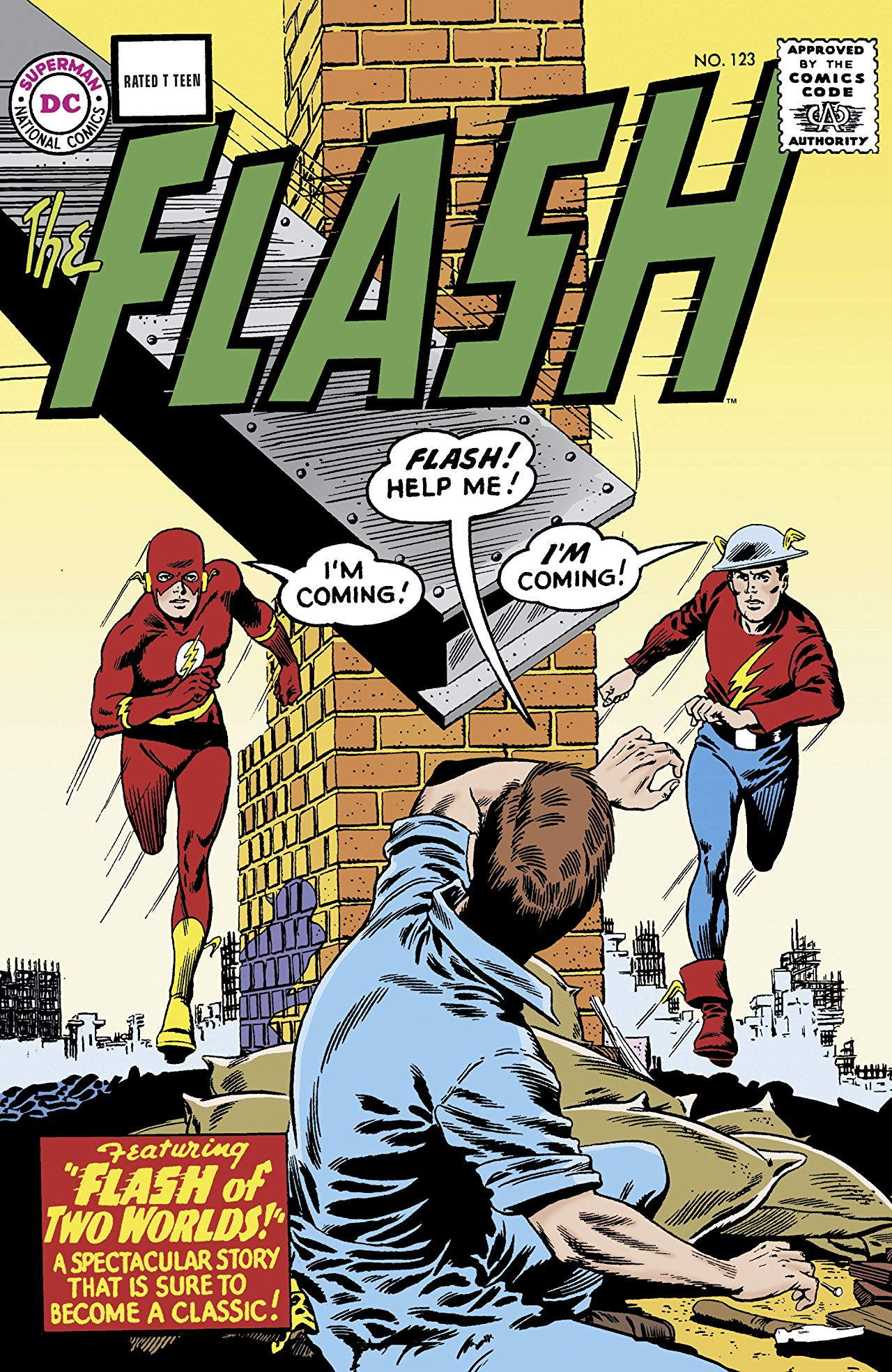 Facsimile Edition: The Flash Vol 1 123