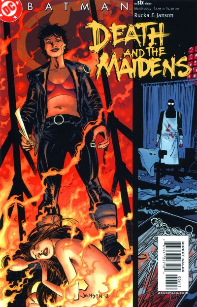 Batman: Death and the Maidens Vol 1 6