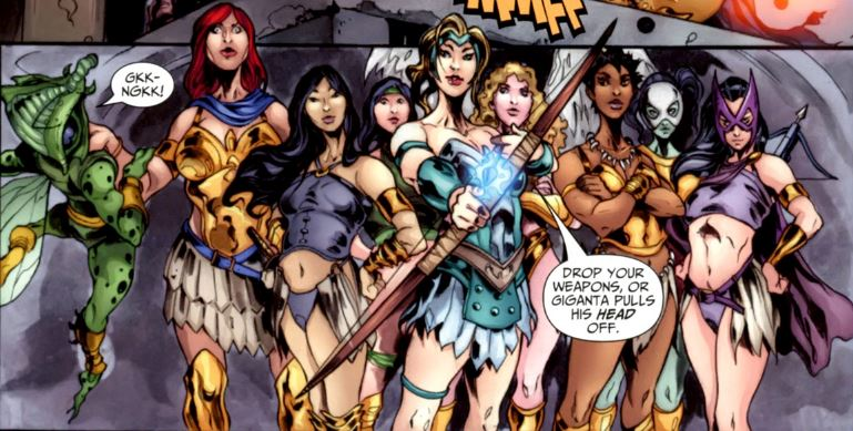 Female Furies (Flashpoint Timeline)