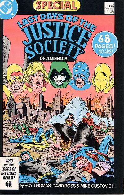 Last Days of the Justice Society Special Vol 1 1