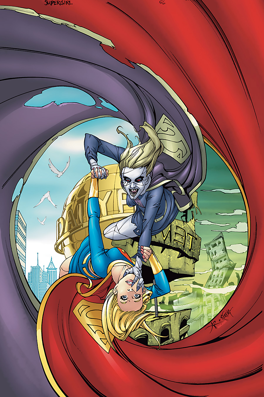 Supergirl Vol 5 56 Textless.jpg
