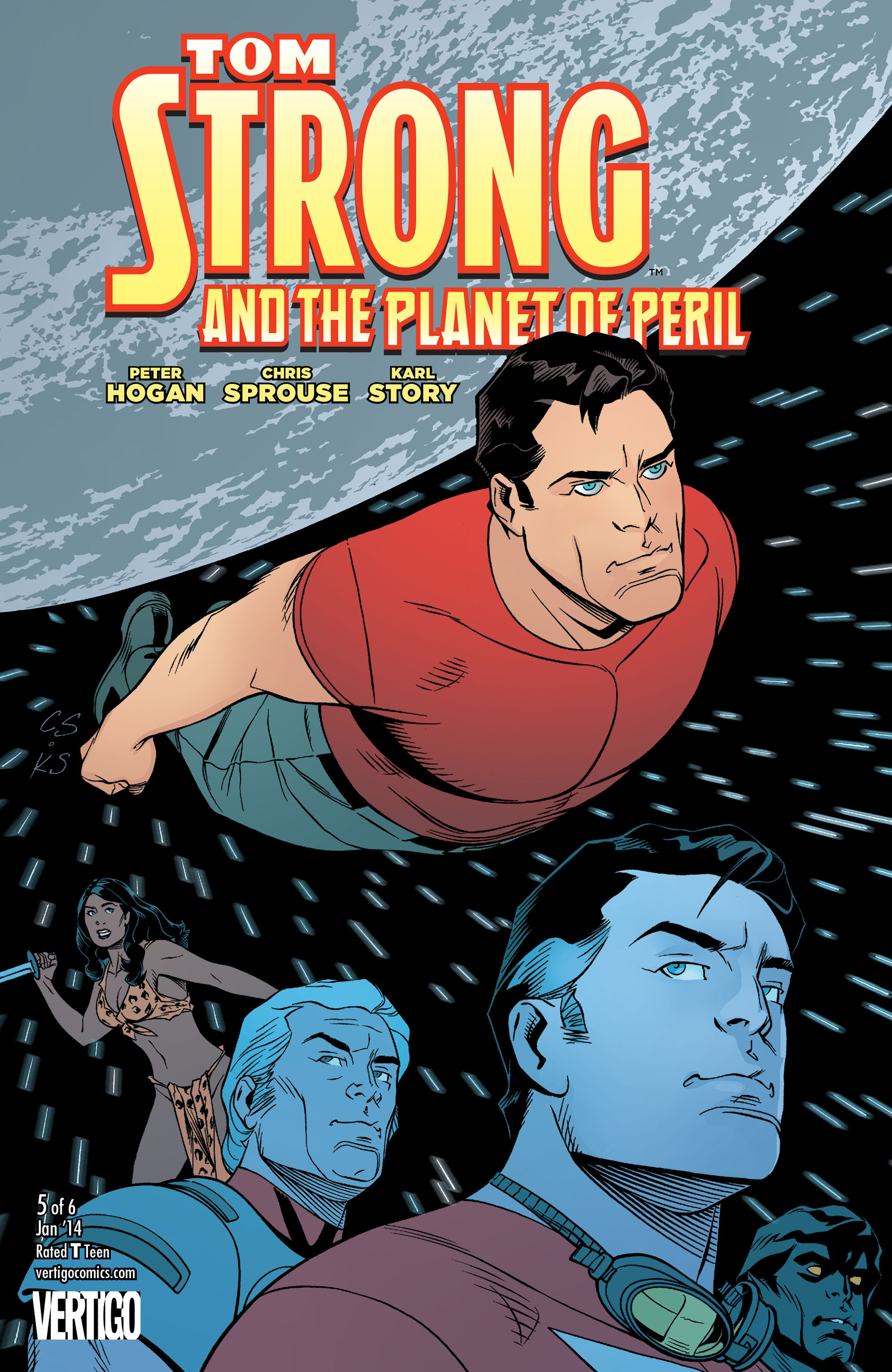 Tom Strong and the Planet of Peril Vol 1 5
