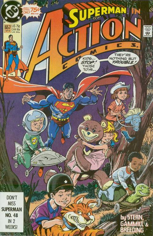 Action Comics Vol 1 657