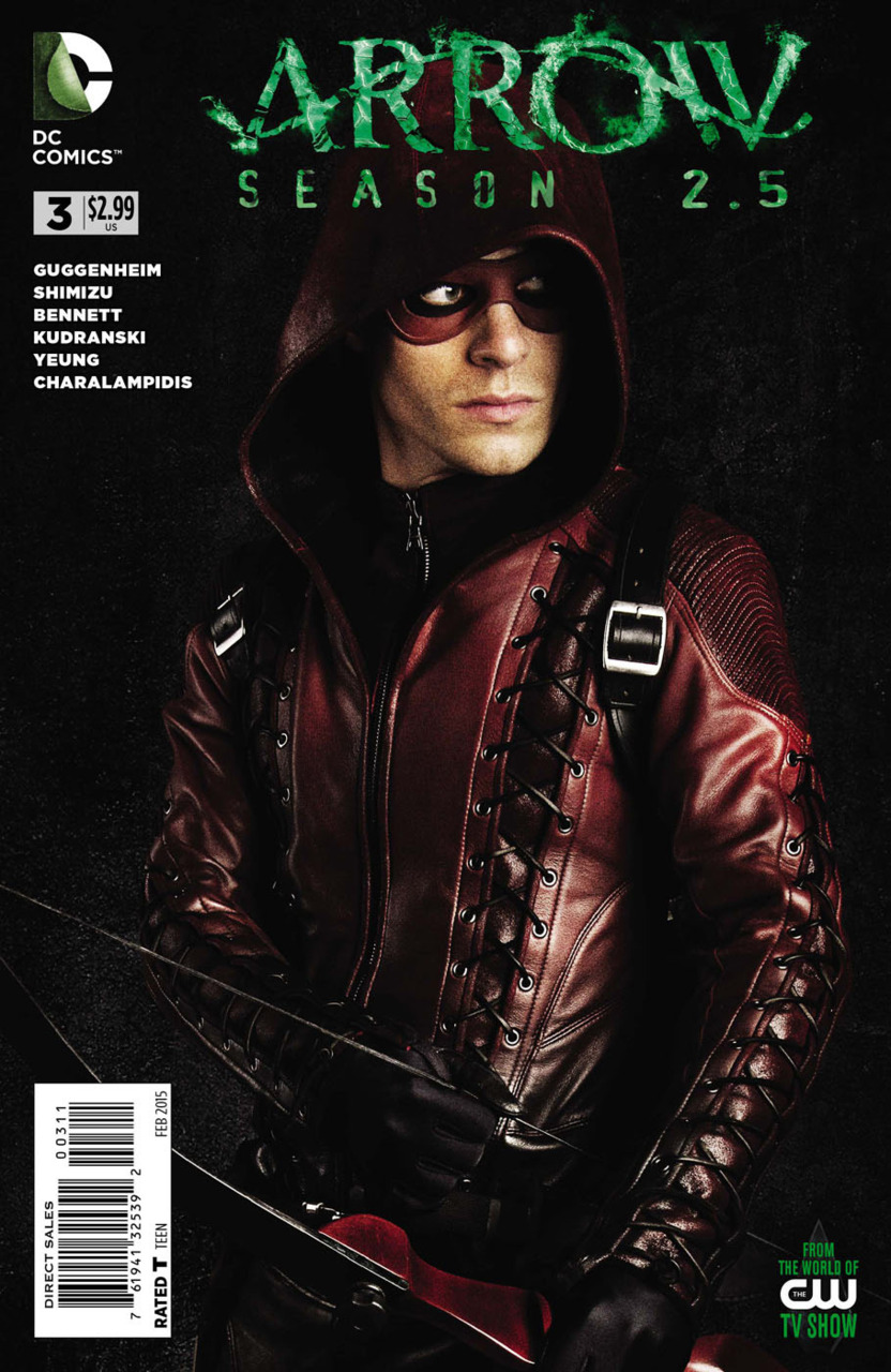 Arrow: Season 2.5 Vol 1 3