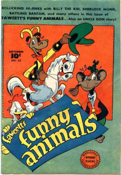Fawcett's Funny Animals Vol 1 53