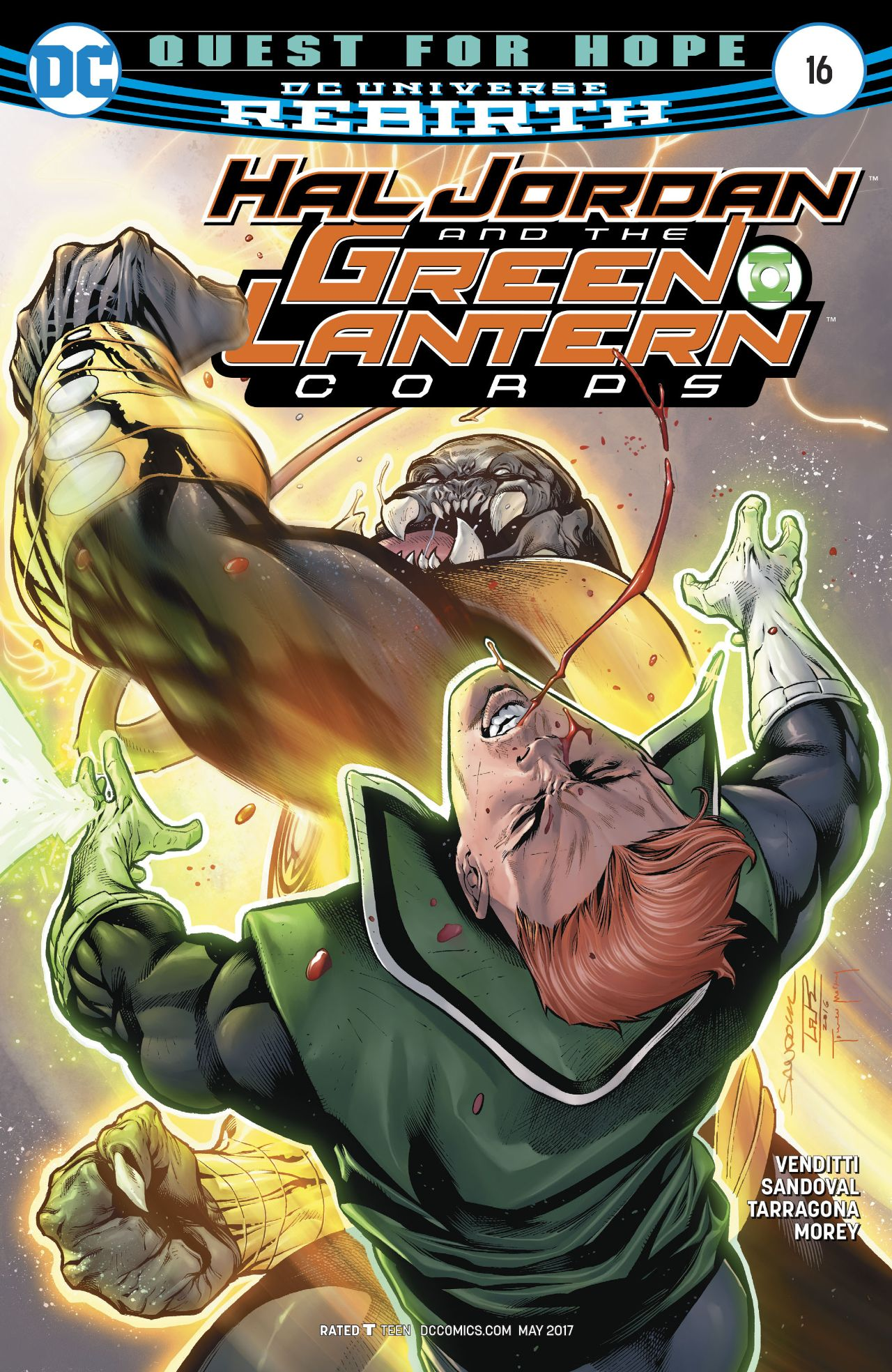 Hal Jordan and the Green Lantern Corps Vol 1 16