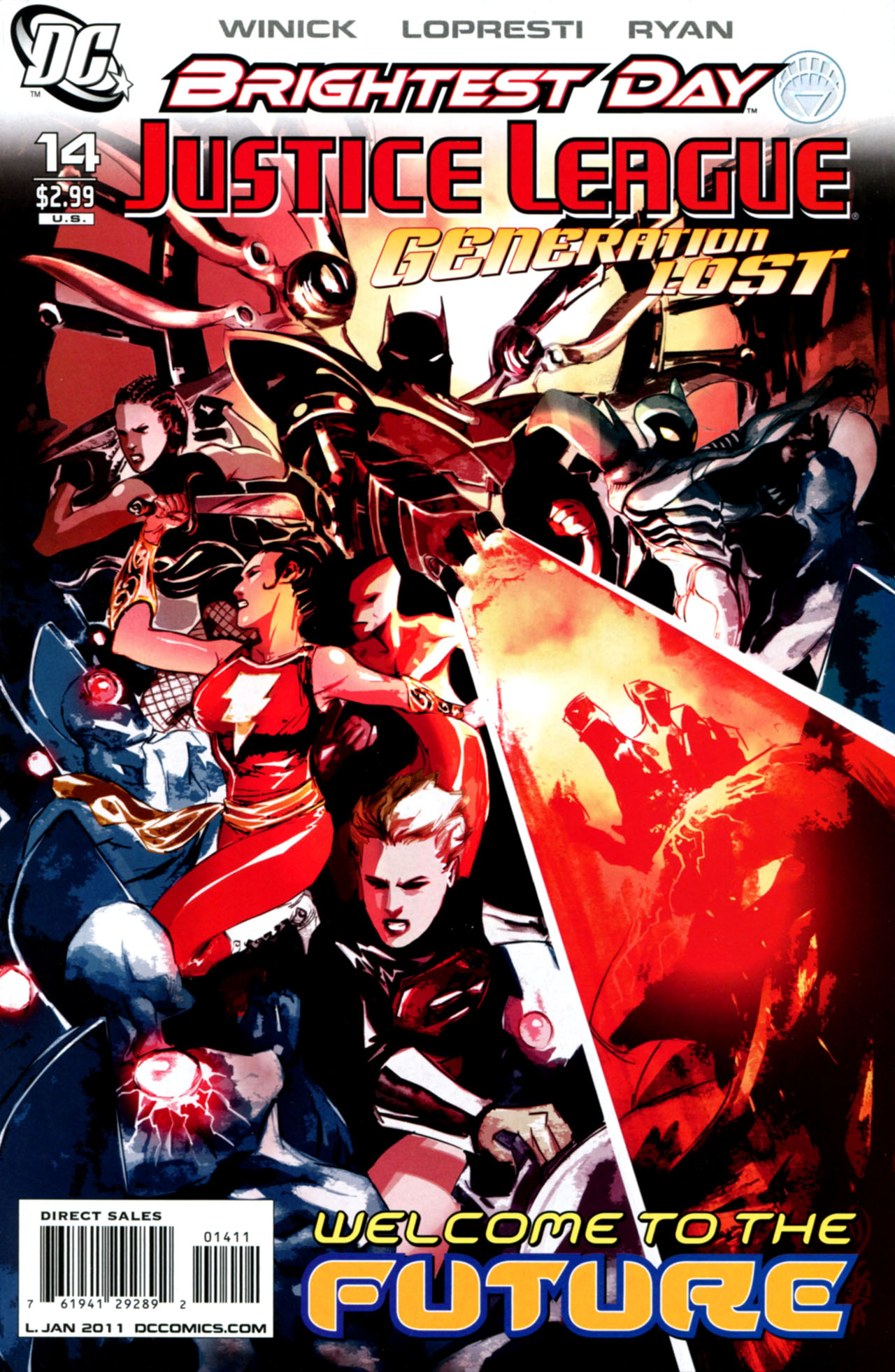 Justice League: Generation Lost Vol 1 14
