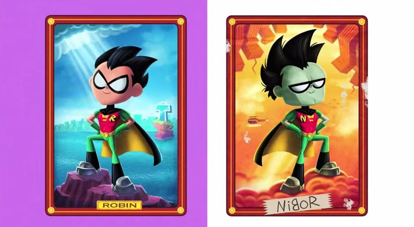 Teen Titans Go! (TV Series) Episode: Robin Backwards
